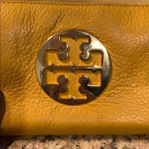 Tory Burch Bags - Tory Burch yellow leather wallet